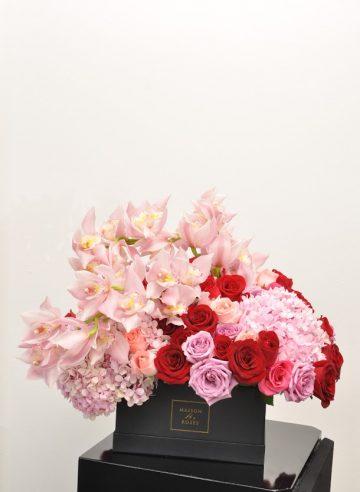 Marquise fresh flower box