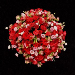 Arjento flower bouquet